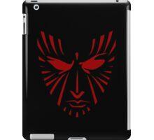 Rachel Summers (Red on Black) iPad Case/Skin