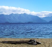 Lake Manapouri, Fiordland, New Zealand Sticker