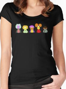 Fraggle Rock On Women's Fitted Scoop T-Shirt