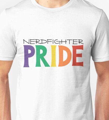 Nerdfighter PRIDE Rainbow Design Unisex T-Shirt