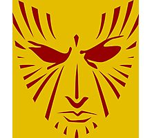 Rachel Summers (Red on Gold) Photographic Print