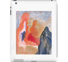 Asian Mountain Abstract Landscape iPad Case/Skin