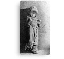 The Kid ..Jackie Coogan Canvas Print