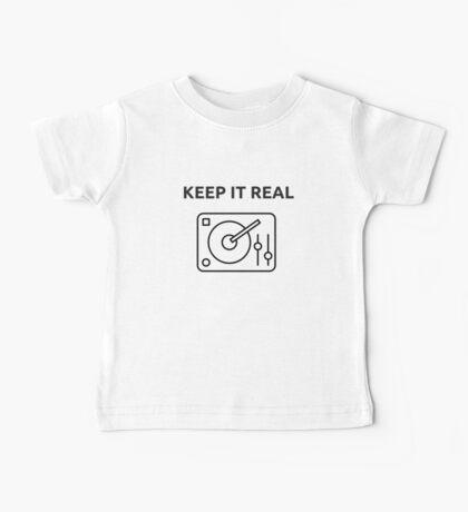 KEEP IT REAL [DJ] Baby Tee