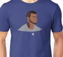 Mass Effect James Vega Minimalist Unisex T-Shirt