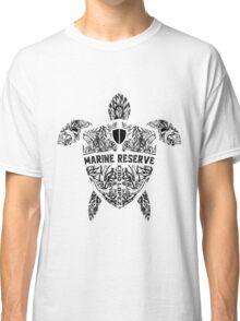 Marine Turtle Graphic Art Classic T-Shirt