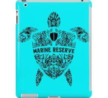 Marine Turtle Graphic Art iPad Case/Skin