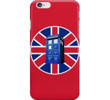 Tardis British iPhone Case/Skin