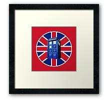 Tardis British Framed Print