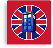 Tardis British Canvas Print