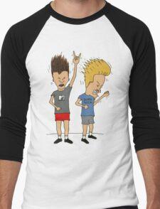 Beavis & Butthead Men's Baseball ¾ T-Shirt