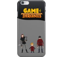Game Of Thrones - Bronn, Tyrion & Pod iPhone Case/Skin