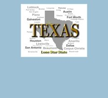 Texas State Pride Map Silhouette  Unisex T-Shirt