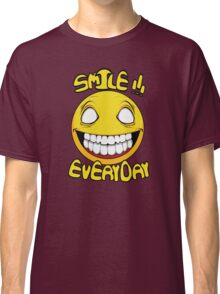 Scary Smilling Face Classic T-Shirt