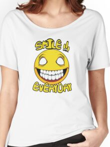 Scary Smilling Face Women's Relaxed Fit T-Shirt