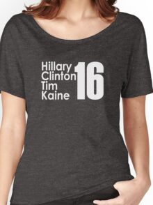 Clinton Kaine 16 Women's Relaxed Fit T-Shirt
