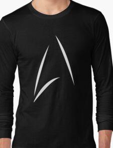 STAR TREK BEYOND - KIRK'S CUP LOGO (BLACK) Long Sleeve T-Shirt