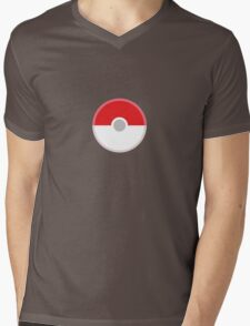Poké Ball Mens V-Neck T-Shirt