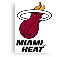 Miami Heat Canvas Print