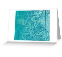 Water Links Greeting Card
