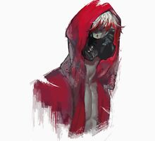 Red hood brush art painting Unisex T-Shirt