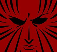 Rachel Summers (Black on Red) by dawtey
