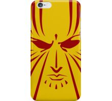 Rachel Summers (Red on Gold) iPhone Case/Skin