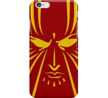 Rachel Summers (Gold on Red) iPhone Case/Skin