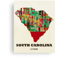 south carolina state map Canvas Print
