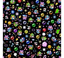 Bubble Bobble - Black Photographic Print