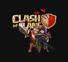 clash of clans barbarian king and archer queen Unisex T-Shirt