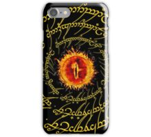 Lord Of The Ring Sauron eye iPhone Case/Skin