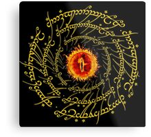Lord Of The Ring Sauron eye Metal Print