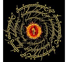 Lord Of The Ring Sauron eye Photographic Print