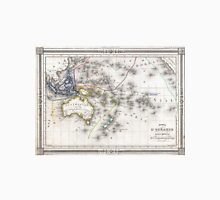 Vintage Map of Oceania (1852) Unisex T-Shirt