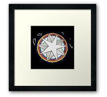 star constellation Framed Print