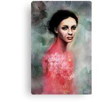 romantic girl Canvas Print