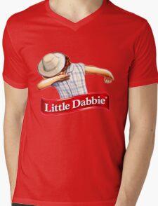 Little Dabbie Mens V-Neck T-Shirt