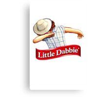 Little Dabbie Canvas Print