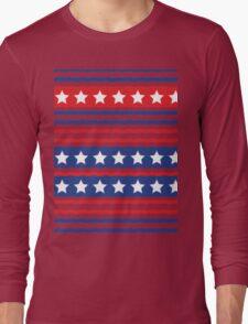 Stars and Stripe Long Sleeve T-Shirt