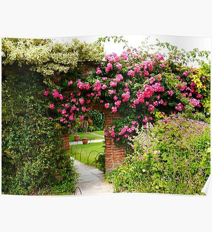 Rose Arch Poster