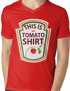 THIS IS MY TOMATO SHIRT Mens V-Neck T-Shirt