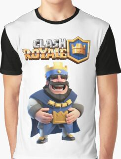 clash royale king Graphic T-Shirt