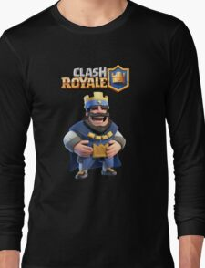 clash royale king Long Sleeve T-Shirt