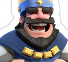 clash royale king Sticker
