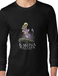 Kakuna Rattata Long Sleeve T-Shirt