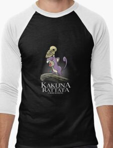Kakuna Rattata Men's Baseball ¾ T-Shirt