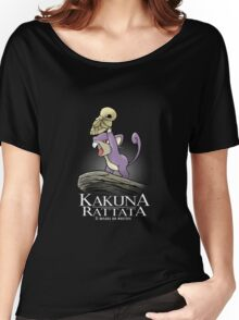 Kakuna Rattata Women's Relaxed Fit T-Shirt