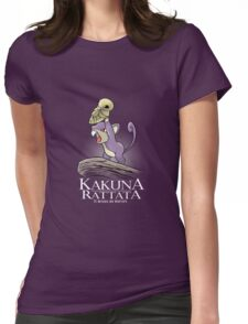 Kakuna Rattata Womens Fitted T-Shirt