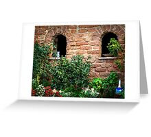 Arched walls Greeting Card
